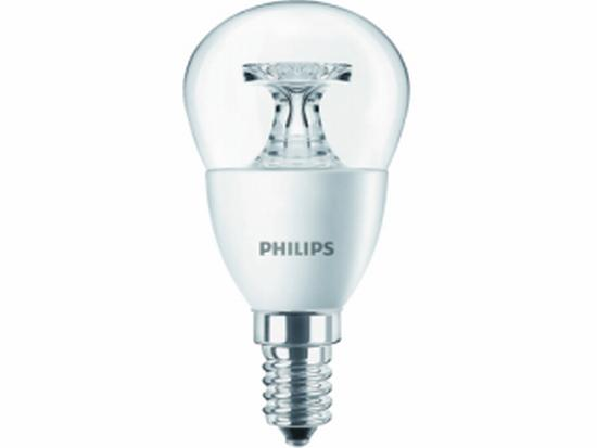 philips 6w 40w e14 ww p45 cl nd 4 led lamp led lampen verlichting huis en tuin. Black Bedroom Furniture Sets. Home Design Ideas