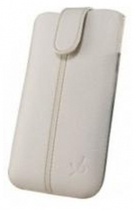 Dolce Vita Elegance Pouch Wit Maat M voor Apple iPhone 4/4S