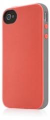 Belkin Hard Case Essential 031 Grijs/Roze voor Apple iPhone 4/4S