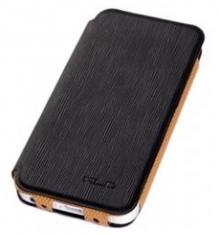 KLD Folio Beschermtasje Charming2 Zwart voor Apple iPhone 5/5S