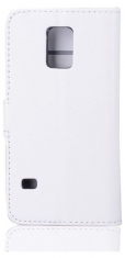 MW Wallet Book Case Wit voor Samsung Galaxy S5 Mini