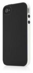 Belkin Hard Case Essential 031 Zwart/Grijs voor Apple iPhone 4/4S