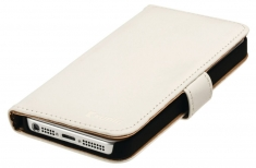 Konig CSWBIPH4WH Portefeuillehoes Iphone 4/4s Wit
