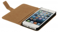 Konig CSWBIPH5WH Portefeuillehoes Iphone 5/5s Wit
