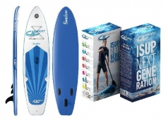 DevesSport Opblaasbaar Sup Board Sunshine 305x75x10cm