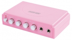 Konig  HAV-KM11P Karaoke Mixer Roze