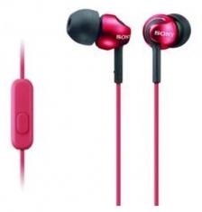 Sony MDREX110APR In-Ear Hoofdtelefoon Rood