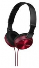 Sony MDRZX310R Opvouwbare Hoofdtelefoon Zwart/Rood