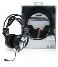 Konig Cmp-headset170 Stereo Headset met Usb & Basvibratiefunctie