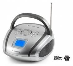Audiosonic RD-1565 Draagbare Stereo Radio USB + Wekfunctie