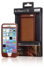 Mosaic Theory Mtel21-001 brn Phone Case Leather For Iphone 5s/5 Brown
