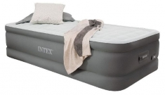 Intex 64482 Twin Premaire Airbed + Pomp + USB + LED 191x99x46 cm