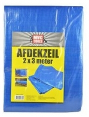 Bouwzeil / Afdekzeil 2x3 Meter Blauw
