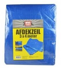 Bouwzeil / Afdekzeil 3x4 Meter Blauw