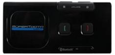 SuperTooth Light Bluetooth Carkit Zwart