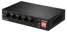Edimax ES-5104PH V2 Netwerk Schakelaar 10/100 Mbit