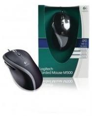 Logitech LGT-M500 Muis Zwart