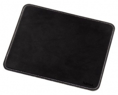 Hama 00054745 Leather Look Mouse Pad Black