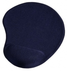 Hama 00054780 Mousepad Ergonomic, Blue