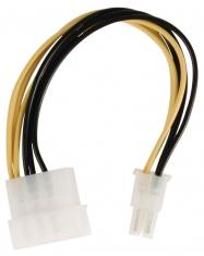 Valueline VLCP74060V015 Interne Stroom Adapterkabel Molex Mannelijk - Pci Express Mannelijk 0,15