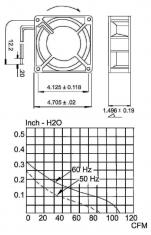 Sunon Cy 201 Ac Ventilator 120 X 120 X 38 mm
