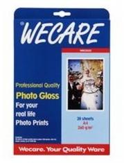 Wecare WEC3532 Fotopapier A4 260gr 20vellen