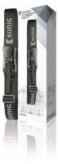 Konig KN-SL10 Kofferriem met Ingebouwde Weegschaal en Slot Zwart