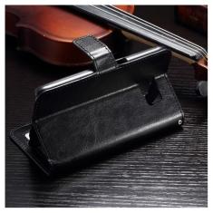 MW M131731  Wallet Book Case Zwart Voor Samsung Galaxy S7 Edge