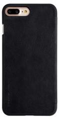 Nillkin M136937  QIN Wallet Book Case Zwart Voor Apple IPhone 7 Plus