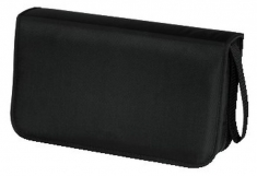 Hama 33832 CD Wallet Nylon 80 Zwart