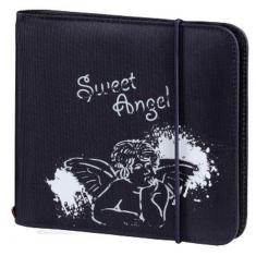 Hama 95671 Up To Fashion CD/DVD Wallet 24 Blauw