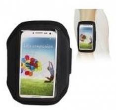 Sport Armband Zwart voor Samsung Galaxy S4