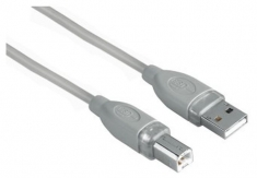 Hama 75045022 USB Kabel A-B 3,3m