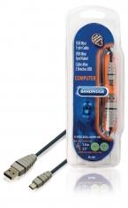 Bandridge BCL4401 Usb Mini 5-pin Kabel 1,0 M
