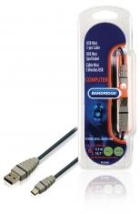 Bandridge Bcl4405 Usb Mini 5-pin Kabel 4,5 M