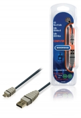 Bandridge Bcl4901 Usb Micro-b Kabel 1,0 M