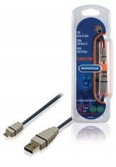 Bandridge BCL4902 Usb Micro-b Kabel 2,0 M