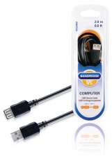 Bandridge VCL4302 Usb Verlengkabel 2,0 M