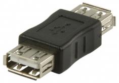 Valueline Vlcp60900b Usb 2,0 Usb A Vrouwelijk - Usb A Vrouwelijk Adapter Zwart