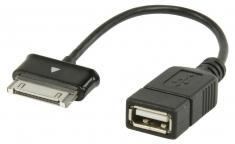 Valueline Vlmp39205b0,20 Usb 2,0 A - Samsung 30-pin Otg Datakabel 0,20 M