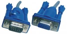Aten 2L-2406 Monitor Cable Vga M - F 6 M Grijs
