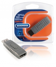 Bandridge Bcp270 Displayport Naar Hoge Snelheids Hdmi Adapter