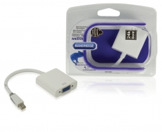 Bandridge Bbm37850w02 Mini Displayport Adapterkabel 0,2 M