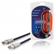Bandridge Bcl2105 Displayport-kabel 5,0 M