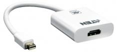 Aten VC981-AT Mini Displayport Kabel Mini-displayport Male - Hdmi-uitgang 0,15 M Wit