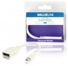 Valueline VLMB37450W02 Mini Displayport-adapterkabel Mini-displayport Mannelijk - Displayport Vr