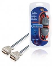 Bandridge BCL1402 Dvi Digitale Montor Kabel 2,0 M