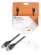 Konig KNC85100E150 Utp Cat5e Netwerkkabel Rj45 Male - Male 15,0 M Grijs