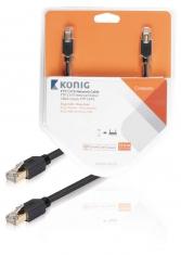 Konig KNC85210E150 Ftp Cat6 Netwerkkabel Rj45 Male - Male 15,0 M Grijs