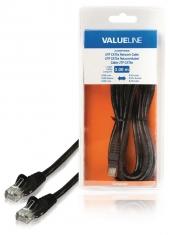 Valueline VLCB85100B30 Utp Cat5e Netwerkkabel Rj45 Mannelijk - Rj45 Mannelijk 3,00 M Zwart